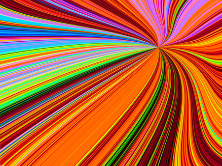 stripped: Abstract rainbow colored layer swirl and stripped line background