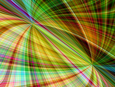 blended: Abstract rainbow colored layer stripped swirl background Stock Photo