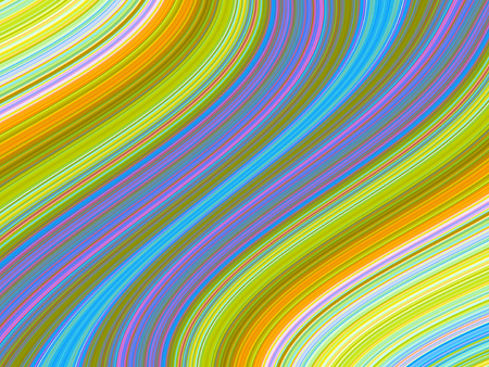 layer: Abstract rainbow colored layer stripped swirl background Stock Photo