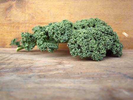 kale: curly kale leave
