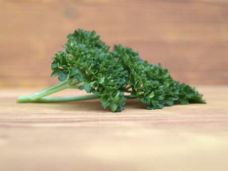 fresh parsley from the garden