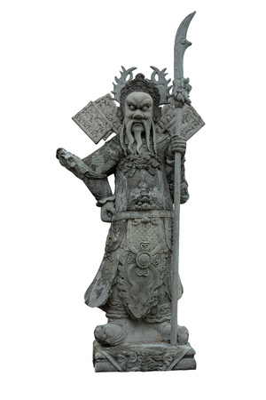 Statue of the goddess of honor.
