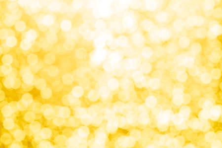 gold abstract background with bokeh defocused lights Reklamní fotografie