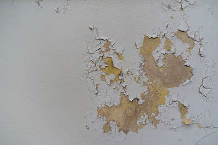 Grunge wall of the old house. Textured background, old wall background