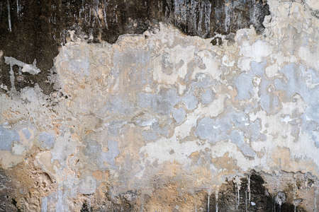 Old weathered brick wall fragment, use as background. 版權商用圖片