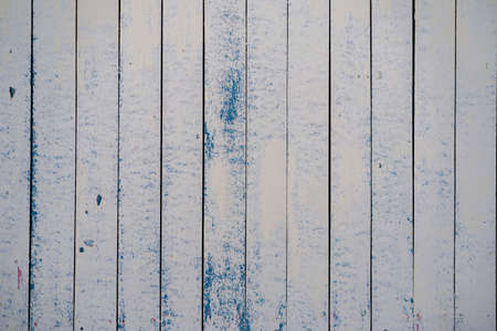 Pastel wood wooden white blue with plank texture wall background. Through use wash giving a feeling of looking old and beautiful