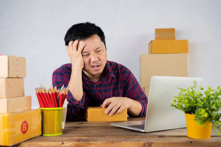 Men who are stressed by online selling, have a problem. The economic conditions worsen, resulting in lower sales of vendors, Dismal symptoms.
