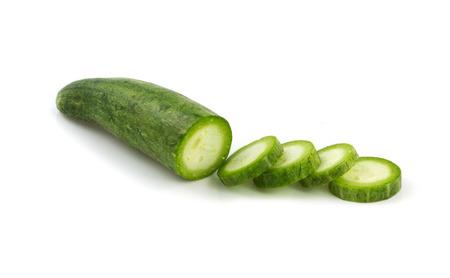 Snake gourd slice photo