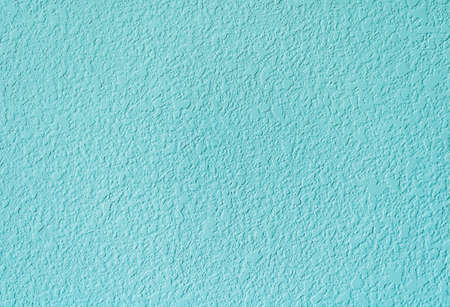 Pure downy blue color wall texture background Stockfoto