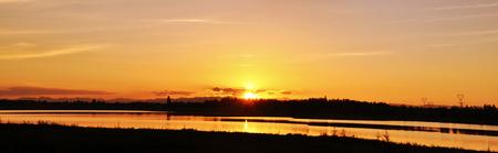 mirror: Mirror Lake Sunset  Stock Photo
