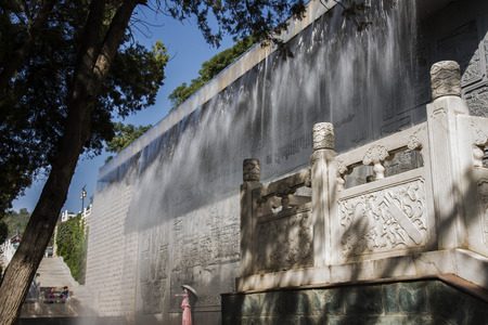 architectural wall: Ancient architectural wall