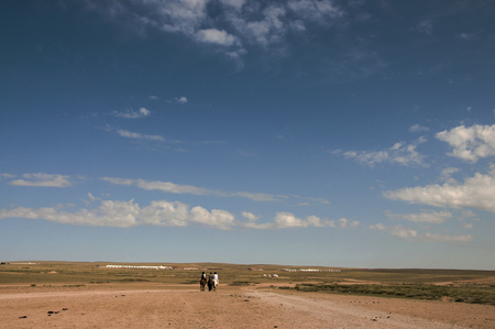 prairie: Prairie with yurt