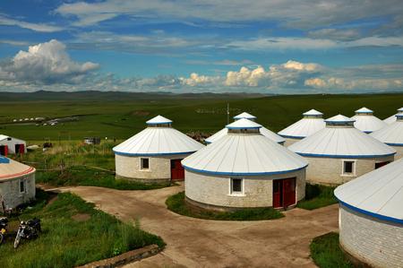 mongolia: Prairie and Mongolia Yurt