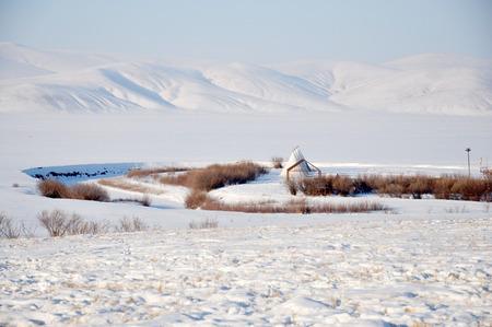 Hulun Buir Winter scenery