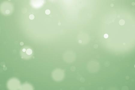 Arrière-plan flou doux avec bokeh pur vert et jaune. rendu 3D - illustration.