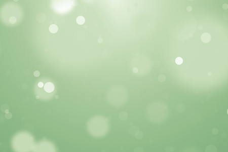 Soft blur background with green and yellow pure bokeh. 3d rendering - illustration.