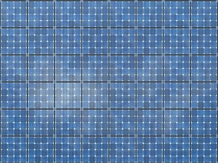 Seamless texture with details of solar panels. 3d rendering - illustration. Zdjęcie Seryjne