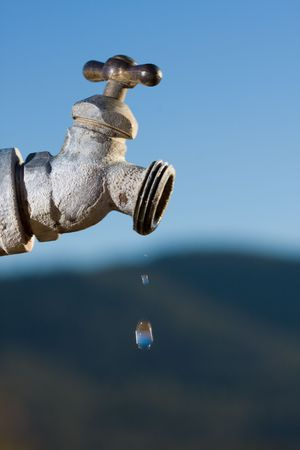 rural faucet Stock Photo - 3628841