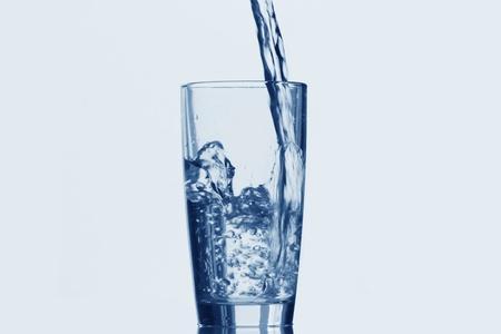 Absztrakt - üveg és a víz Stock fotó