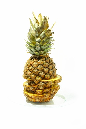 subtly: One sliced pineapple