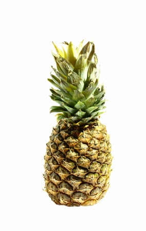 subtly: Ripe and juicy pineapple
