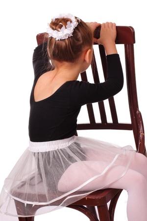 Little ballerina girl