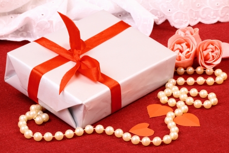 Exciting gift for St  Valentine Day Stock Photo - 17308583