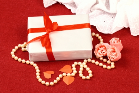 Exciting gifts for St  Valentine Day Stock Photo - 17308582