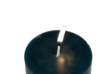 way out: candle that lets out just the right amount of light to show the way.