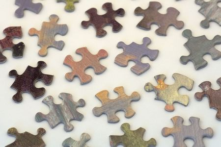 most things in life are a puzzle that needs to be solved. Stock fotó