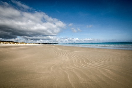 A beautiful photo of Puheke beach in the Karikari peninsula, Fat North of New Zealand