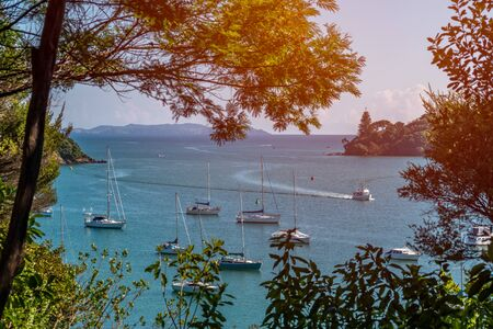 A beautiful view of the historic Mangonui harbour in the far north of New Zealand