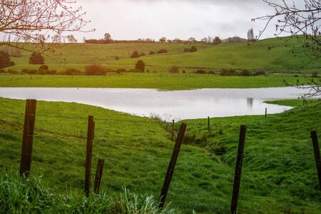 More frequent flooding of our farmland pastures