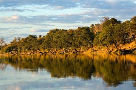 Chobe River, Botswana Stock Photo