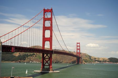 The Golden Gate Bridge in San Francisco Stock Photo - 3211154