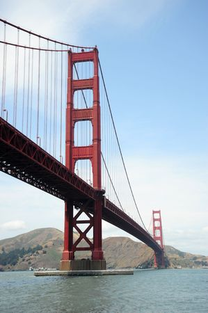 The Golden Gate Bridge in San Francisco Stock Photo - 3211153