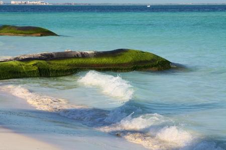 beach waves Isla Mujeres