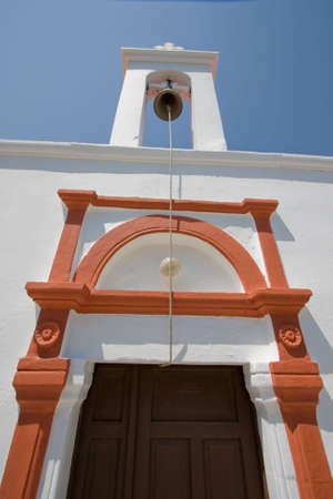 detail of greek church Stock Photo - 4094754