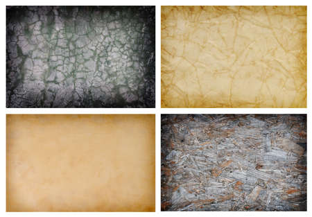 collection of abstract grunge texture backgrounds Stock Photo - 4413198