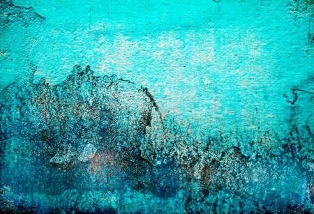 turquesa color: Fondo de textura turquesa abstracta de grunge para m�ltiples usos