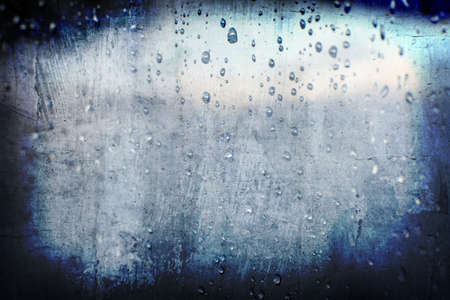 rain wet: grunge abstract droplet rain background for multiple uses