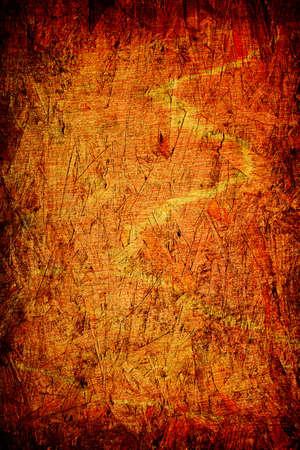 grunge orange wooden background for multiple uses Stock Photo - 6170142