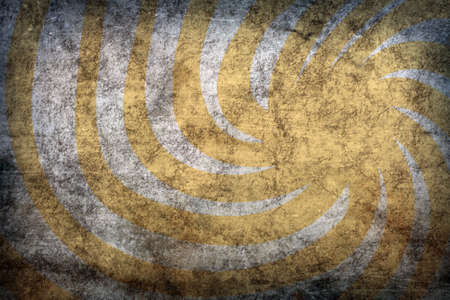 sun burnt: abstract yellow vintage grunge background with sun rays for multiple uses Stock Photo