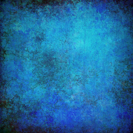 fade: blue grunge textured abstract background for multiple uses