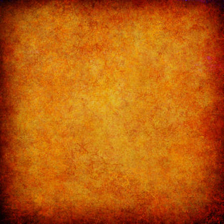 grunge layer: orange grunge textured abstract background for multiple uses Stock Photo