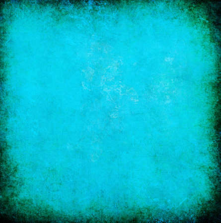 stationary border: turquoise grunge textured abstract background for multiple uses