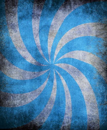 sun burnt: abstract blue vintage grunge background with sun rays for multiple uses