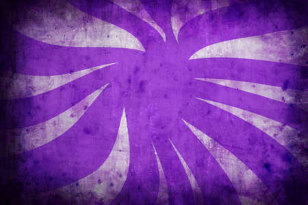 sun burnt: purple vintage grunge background with sun rays for multiple uses  Stock Photo