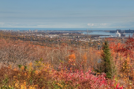 Duluth is a popular Tourist Destination in the Upper Midwest on the Shores of Lake Superior in Far North Minnesota Stock fotó