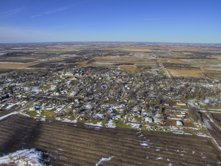 Bryant is a Small Farming Town in South Dakota by Huron